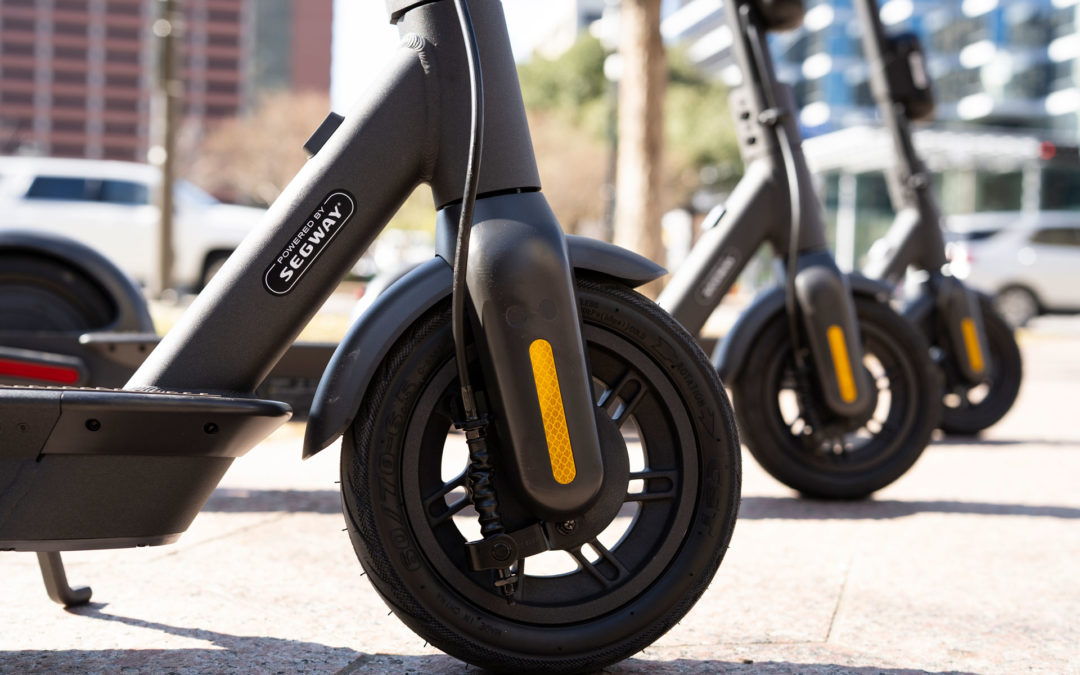 Get to Know the Segway Commercial Max Series Shared Scooters